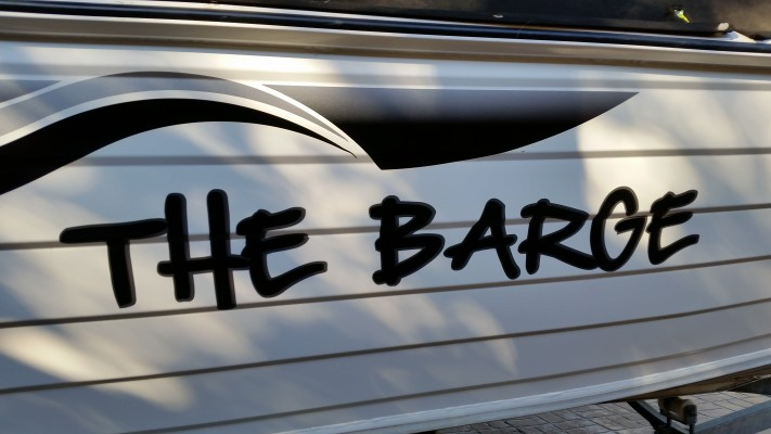 vinyl lettering decal