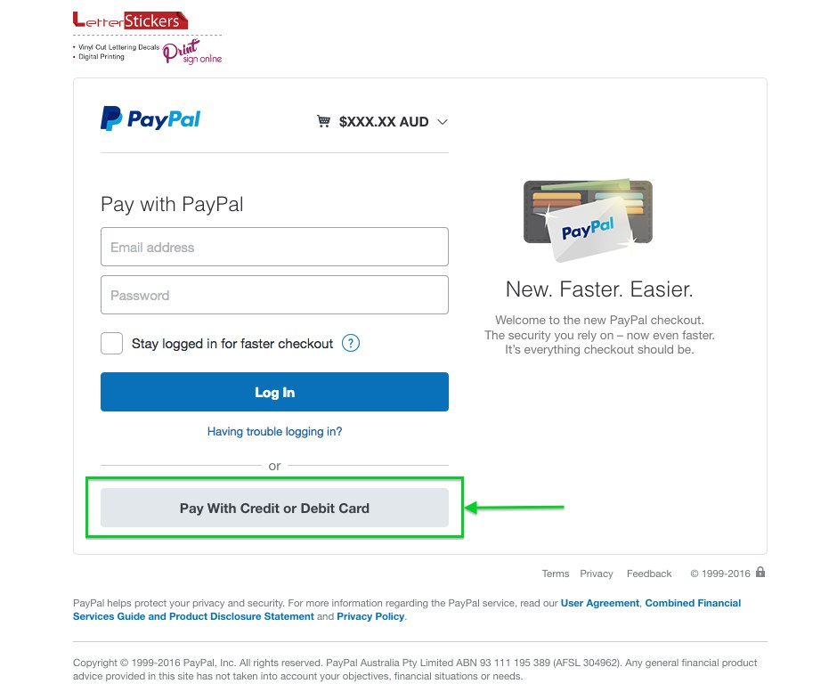 How to pay with a credit card on PayPal
